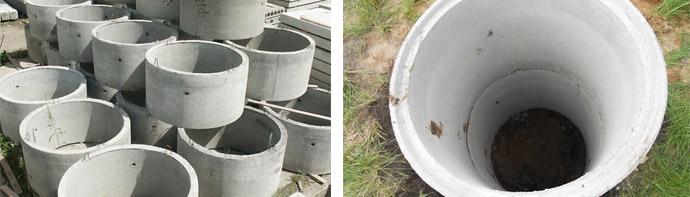 Железобетонные канализационные кольца