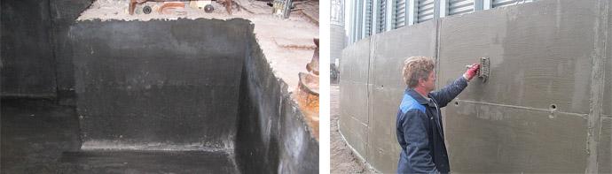 Капиллярная гидроизоляция для бетонных конструкций