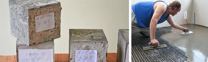 Особенности бетонных смесей