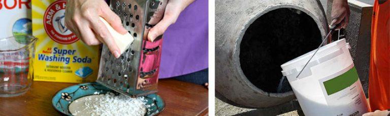 Пластификатор для бетона своими руками из стирального порошка 24
