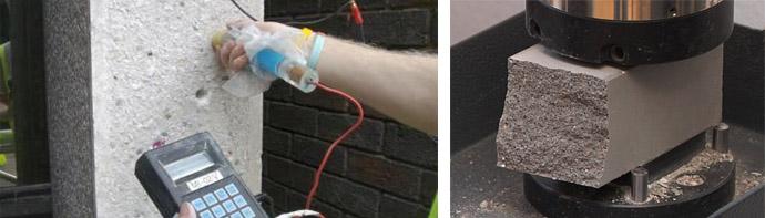Прочность бетонных растворов