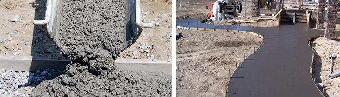 Товарные бетонные смеси