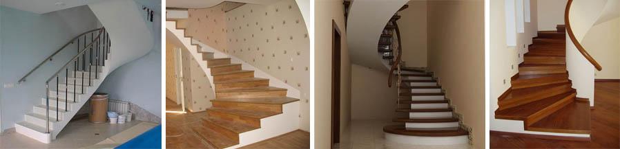 Фото лестниц в частном доме