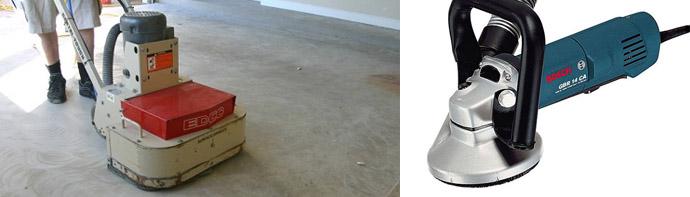 Шлифовальные машинки для бетона