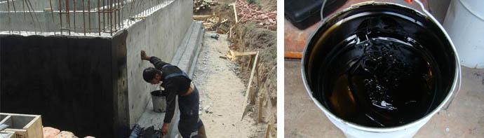 Битумная гидроизоляция для фундаментов