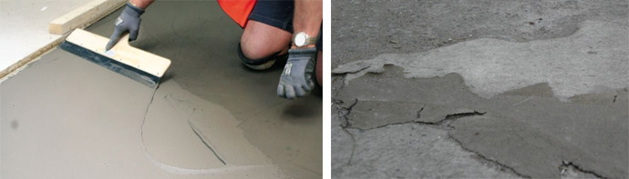 Восстановление бетонной поверхности