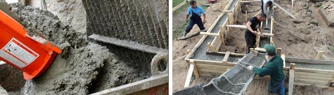 Марка бетонного раствора для фундамента