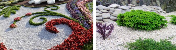 Мрамор в ландшафтном дизайне