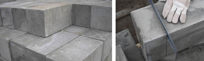 Особенности блоков из пенобетона