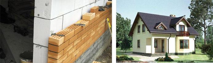 Проекты двухэтажных пенобетонных домов