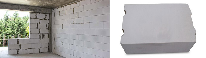 Размеры газоблоков для строительства стен