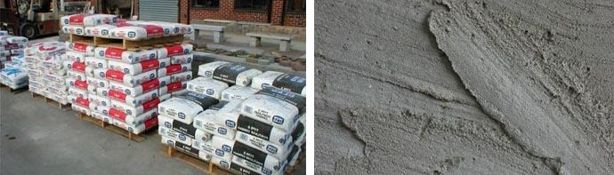 Расширяющаяся цементная смесь