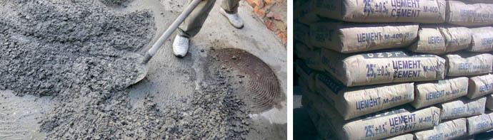 Состав цементных смесей