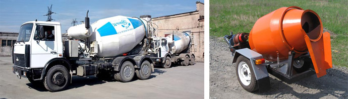 Спецтехника и оборудование для бетонирования