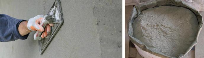 Цементные штукатурные составы
