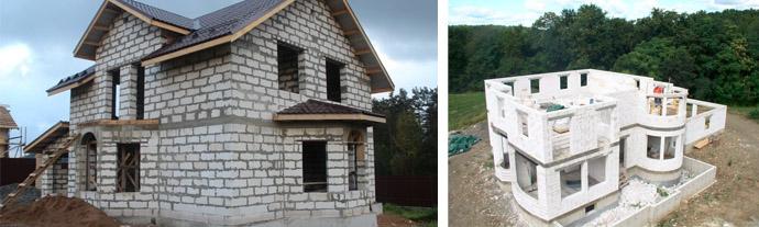 Недорогой дом из газоблоков для постоянного проживания