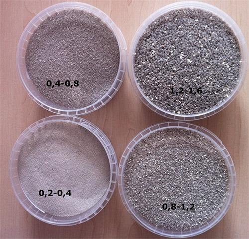 Абразивный песок для пескоструя