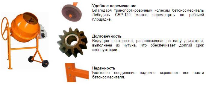 Лебедянь марки СБР-120