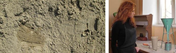 Плотность строительного песка
