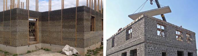 Проекты частных арболитовых домов