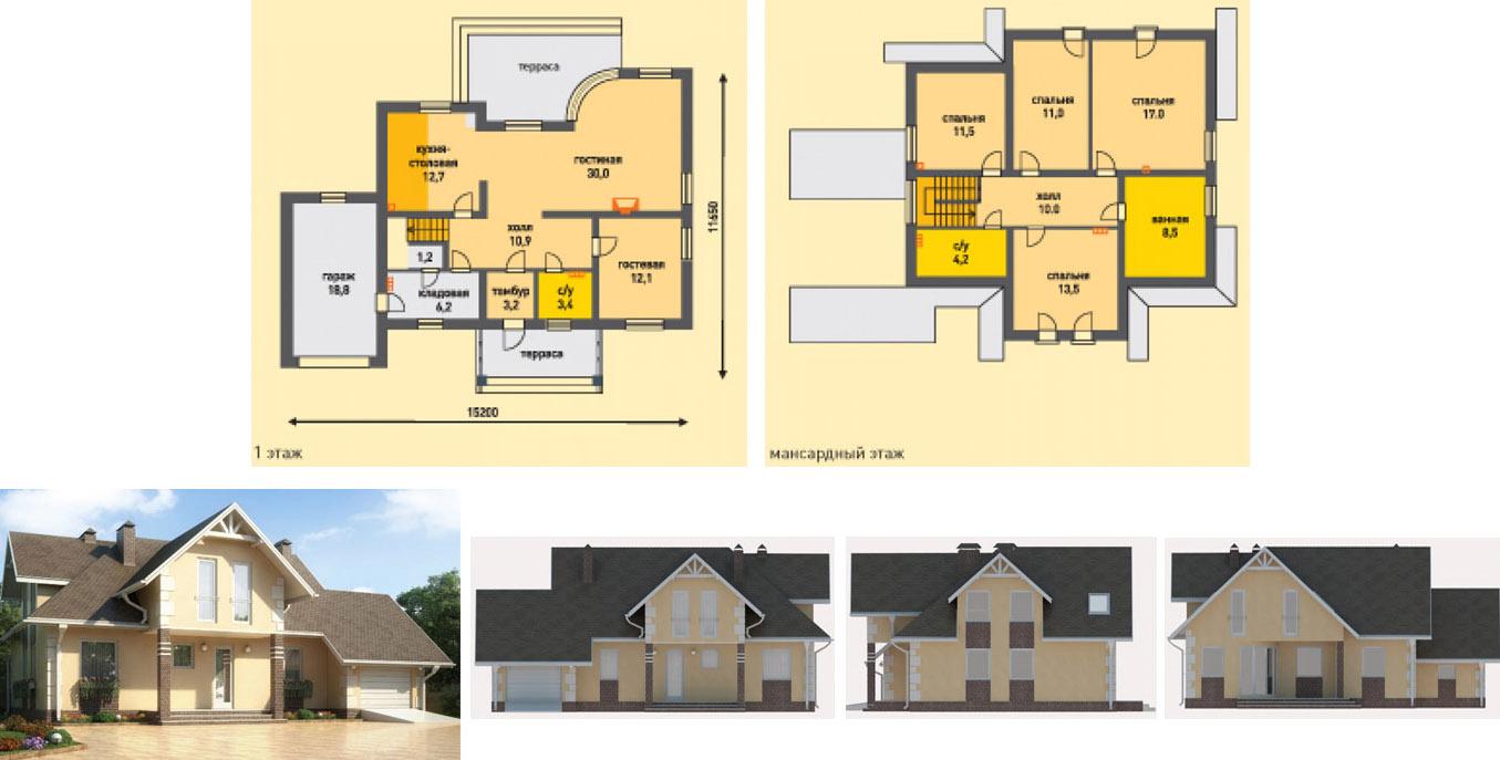 Проект дома Штендаль
