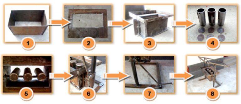 Как сделать формы для керамзитоблоков своими руками