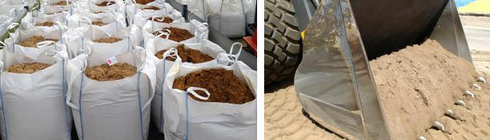Сколько тонн в 1 м3 песка