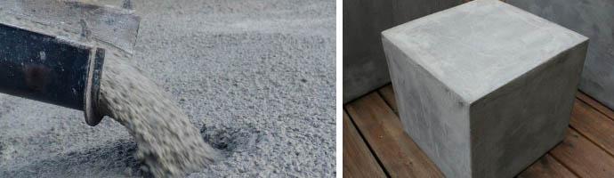 Вес куба бетонного раствора