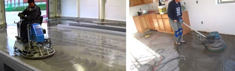 Расценка шлифовка бетонного пола