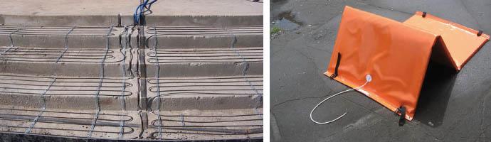 Прогрев бетонной смеси