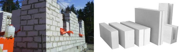 Рекомендуемая толщина стен из газоблоков