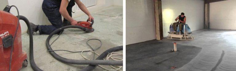 Шлифовальная машина по бетону своими руками 79