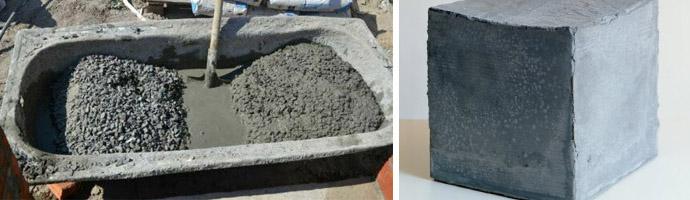 Цена бетона за кубометр