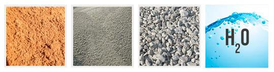 Из чего состоит бетон