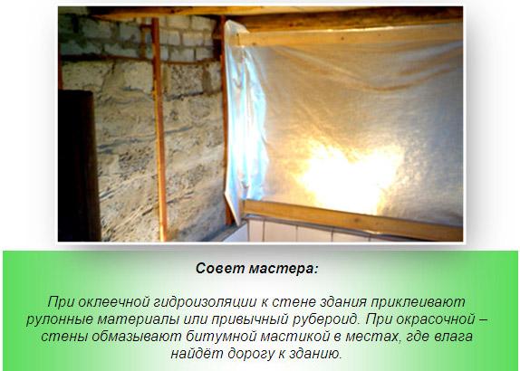 Нюансы гидроизоляции бани