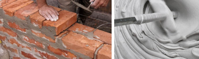Расход цементного порошка на м3