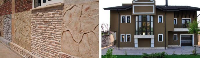 Штукатурка для фасада дома
