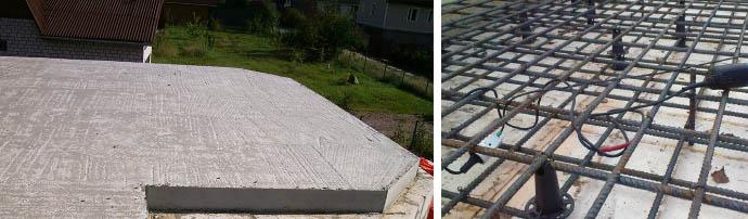 Перекрытия из бетона своими силами