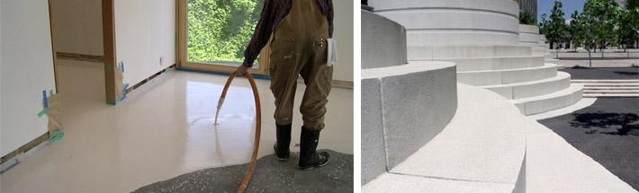 Сфера использования цемента