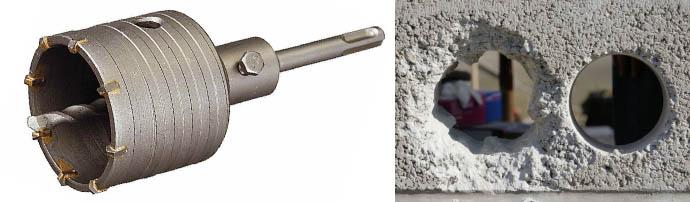 Коронки по бетону