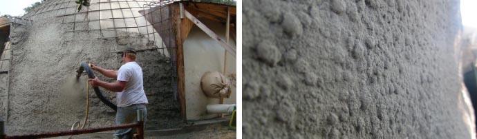 Особенности набрызг-бетона