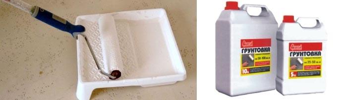 Особенности применения грунтовочных составов