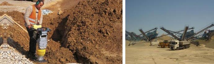 Параметр уплотнения песка