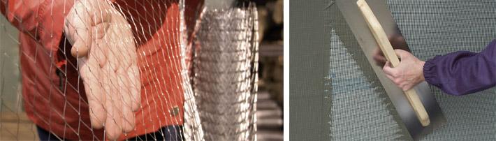 Применение металлических сеток