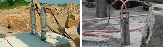 Разрушение бетонных конструкций