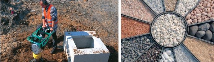 Степень уплотнения строительного щебня