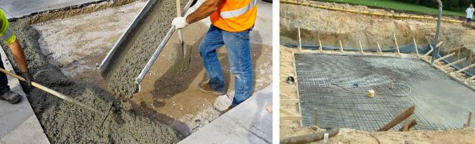 Стоимость бетона для основания