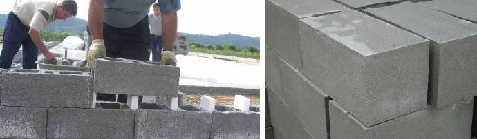 Строительные блоки для стен