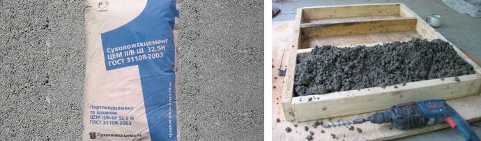Сухие цементные составы