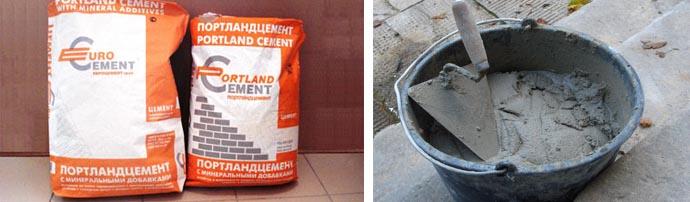 Объем цементного состава
